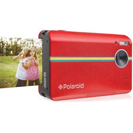 polaroid z2300 10mp 720p hd instant digital camera, red