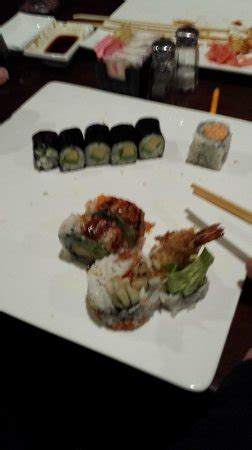 toko japanese steak house avocado wraps and something with shrimp picture of toko japanese steakhouse sushi
