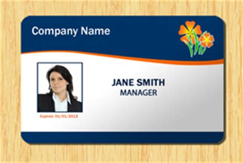 employee id card photoshop template employee id template 1 other files patterns and templates