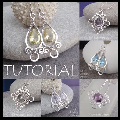 wire for jewelry projects wire jewelry tutorial spiral loop frames earrings