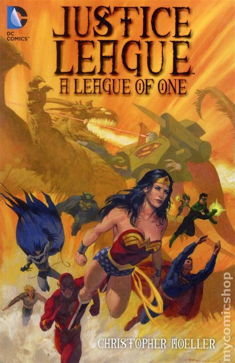 justice books justice league a league of one tpb 2015 dc comic books