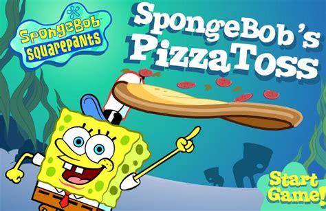 juegos de pisas reparte pizzas con bob esponja juegos infantiles