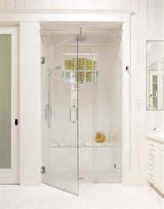 Steam Shower Bathroom Kohler Steam Shower Bathroom Traditional With Baseboards Curbless Shower Frameless