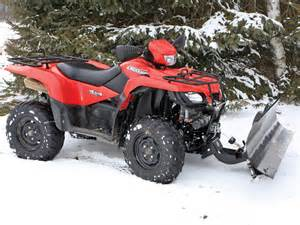 Snow Plow For Suzuki Atv 2013 American Manufacture S Generation Ii Eagle Plow Atv
