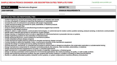 Mechatronics Engineer Cover Letter by Flipsnack Michael By Sfu Work Integrated Learning Mechatronics Engineer Title Docs The