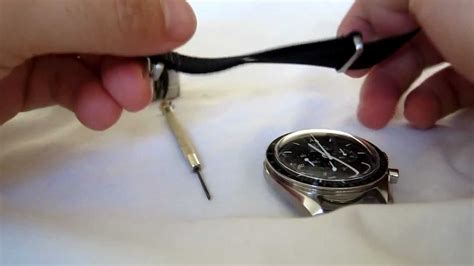 Omega Speedmaster Professional Moon Watch   Strap change (nato)   YouTube