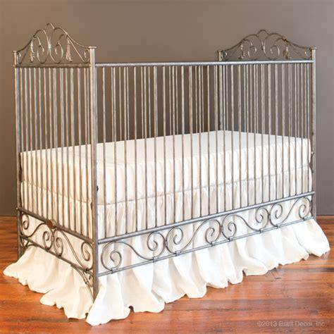 casablanca crib pewter