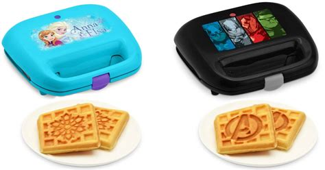 themed waffle maker walmart disney and marvel themed waffle makers only 6 97