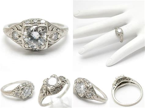 antique platinum wedding rings the wedding specialists