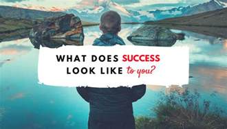 what does success look like to you l golem phd rd