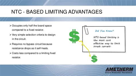 ptc thermistor advantages limiting inrush current with ntc and ptc thermistors