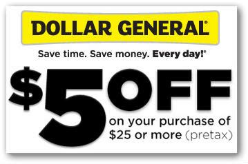 5 dollar fashion coupon code dollar general 5 25 purchase today only