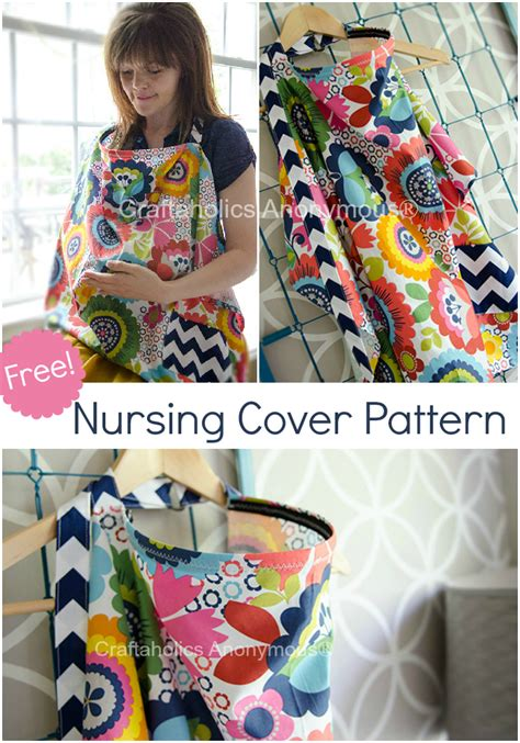 nursing cover up pattern free craftaholics anonymous 174 nursing cover pattern with pocket