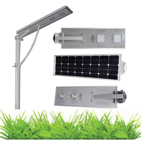 Integrated 50w Solar Street Light For Garden Itscool Solar Integrated Solar Light