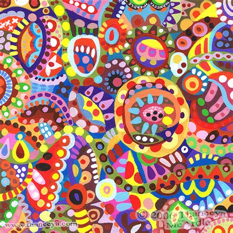 colorful painting colorful abstract detailed psychedelic abstract paintings and drawings by