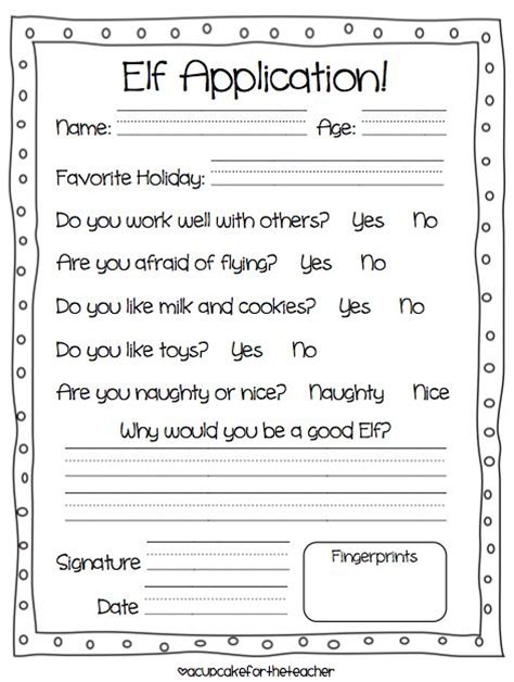 printable elf contract 26 best images about terms of agreement on pinterest my