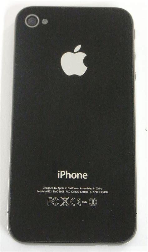 Hp Iphone A1332 Emc 380b apple iphone 4 handy smartphone modell a1332 emc 380b mit simlock schwarz ebay