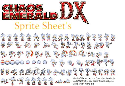 Kaos Dhet Metl Ar hyper sonic sprites by mypicts on deviantart