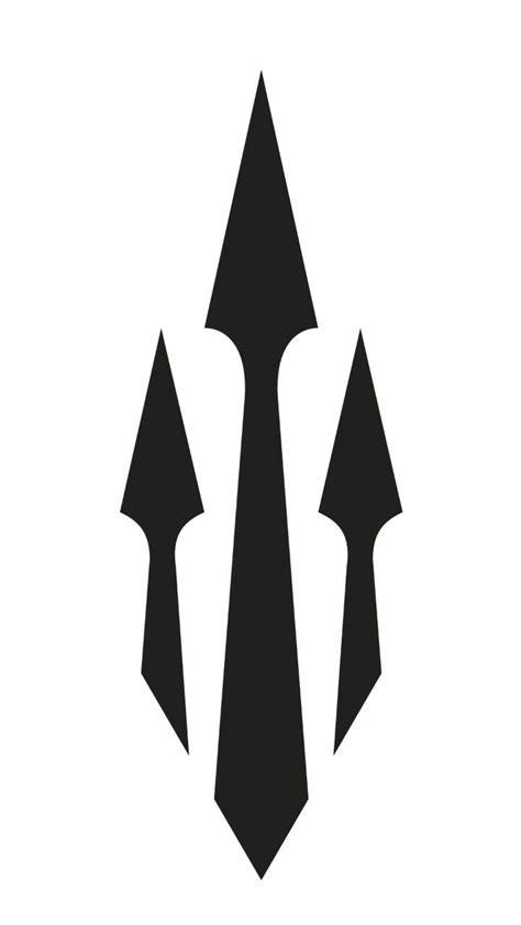 poseidon trident tattoo poseidon trident khatman inspiration