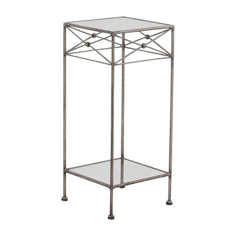 wrought iron glass end table 57 wrought iron and glass side table tables