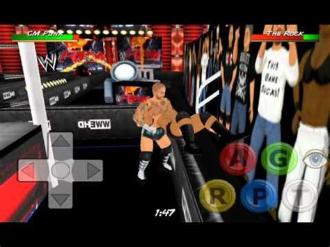 how to mod in wwe the game wrestling revolution 3d wwe mod gameplay cm punk vs the