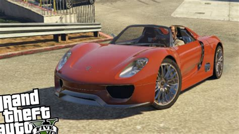 porsche 918 crash gta 5 porsche 918 spyder crash testing youtube