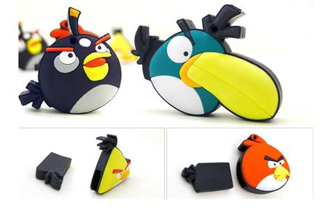 Flashdisk Angry Bird Series 8gb angry bird u disk flash memory drives storage 256m 512m 1g 2g 4g 8gb bug cell tv