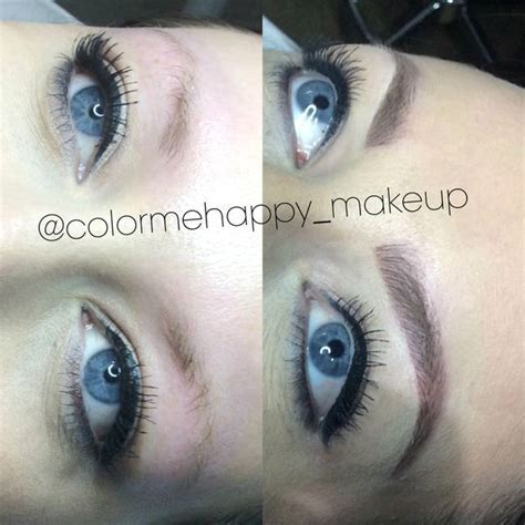 eyebrow feather tattoo newcastle 11 best microblading 3d feather stroke eyebrows images on