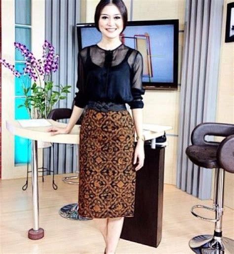 Dress Tenun Ntt Kombinasi kombinasi dress batik modern modern batik