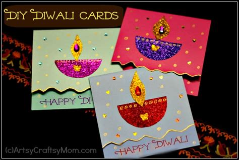 make diwali cards diy diwali card idea for artsy craftsy