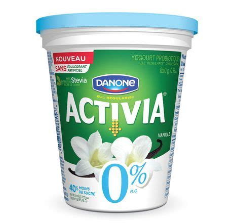 activia vanilla probiotic 0% m.f. yogurt | walmart.ca