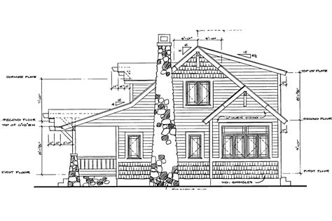 bungalow floor plan with elevation craftsman house plans absecon 41 011 associated designs