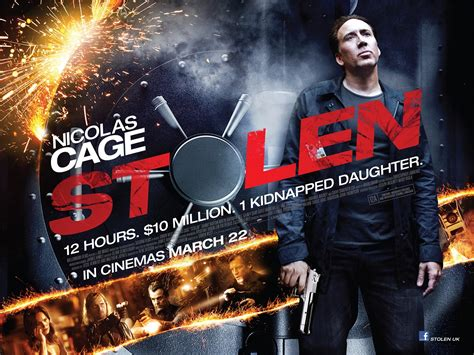 A Stolen dvd review nicolas cage in stolen culture fix