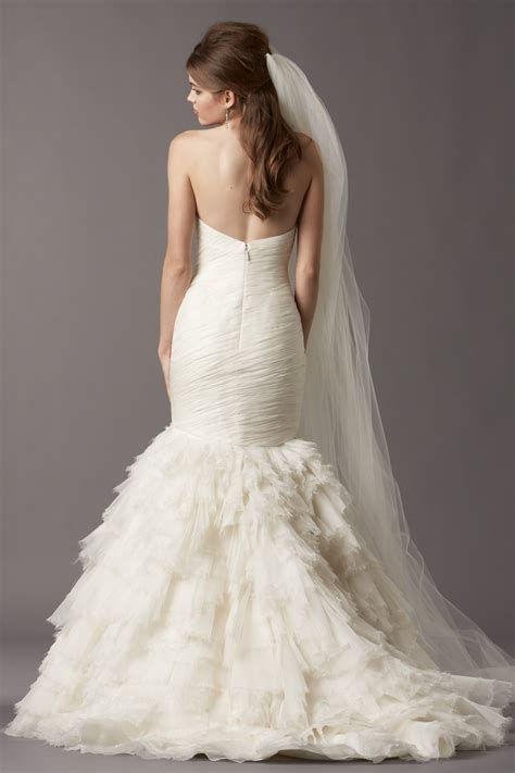 Ivory Wedding Dresses by A Collection Of Gorgeous Ivory Mermaid Wedding Dresses