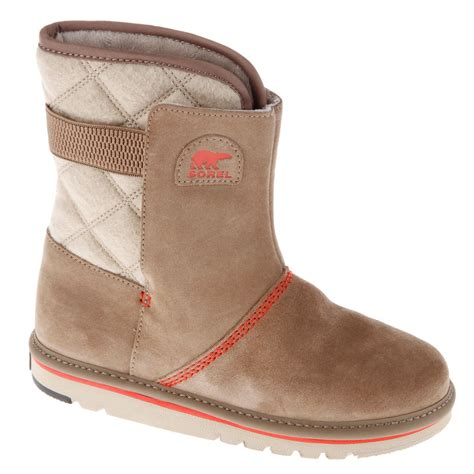 slip on snow boots for sorel the cus juniors snow boots warm winter shoes