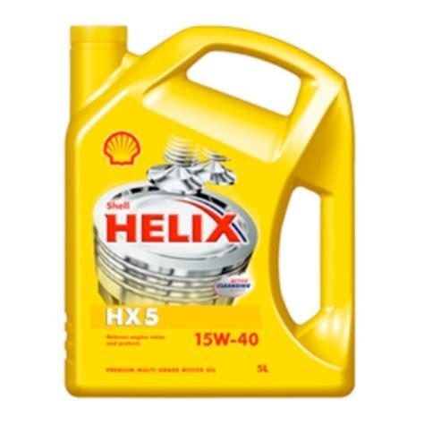 Shell Helix Hx5 shell helix hx5 15w 40 asl