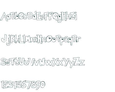 free printable hollow fonts pokemon hollow font download free truetype