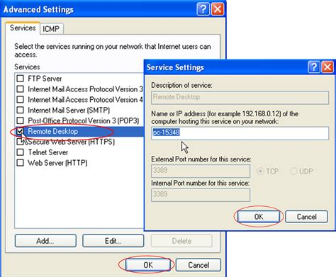configure xp for remote access resource center using remote desktop in windows xp
