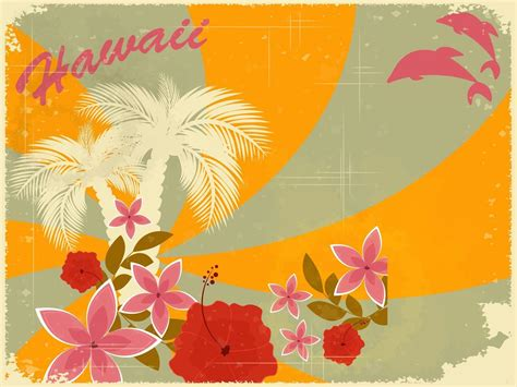 hawaiian powerpoint template hawaiian backgrounds image wallpaper cave