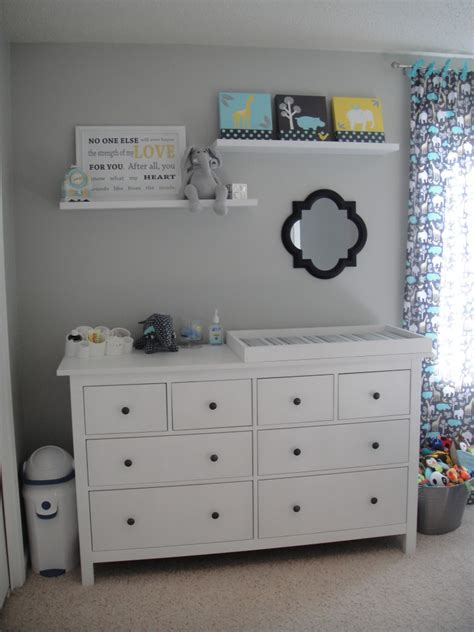 Dresser For Nursery by Modern Boy Nursery Project Nursery