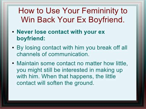 get your ex back how to get your ex back books win back your ex boyfriend