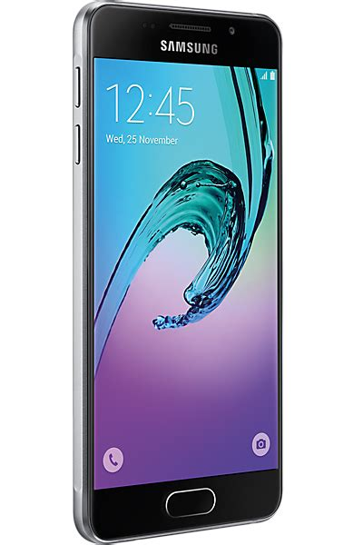 Samsung A5 2016 Black samsung galaxy a5 2016 black contract phone deals