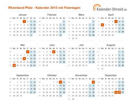 Feiertage Kalender 2015 Feiertage 2015 Rheinland Pfalz Kalender