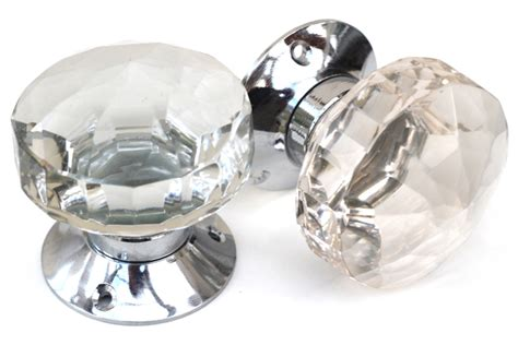 Cut Glass Mortice Knobs Cut Glass Door Knobs