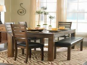 Dining Table For Small Space by Dining Table With Bench For Small Space Your Dream Home