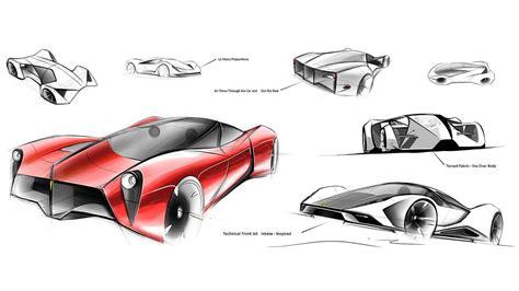design vs concept ferrari f80 rendered by adriano raeli pictures digital