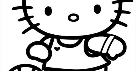 hello kitty soccer coloring pages hello kitty playing soccer hello kitty coloring pages