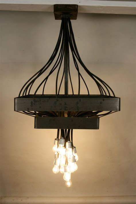 Industrial Chic Chandelier Industrial Modern Chandelier