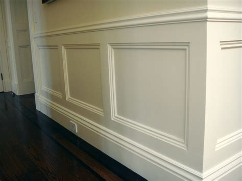 Contemporary Wainscoting by Wainscoting Tips And Advice Finish Carpentry