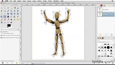 flyer design using gimp visual learner gimp tutorial using the cage transform tool